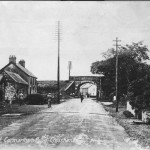 Carmarthen Road - Original hall, on the left, built in 1904.